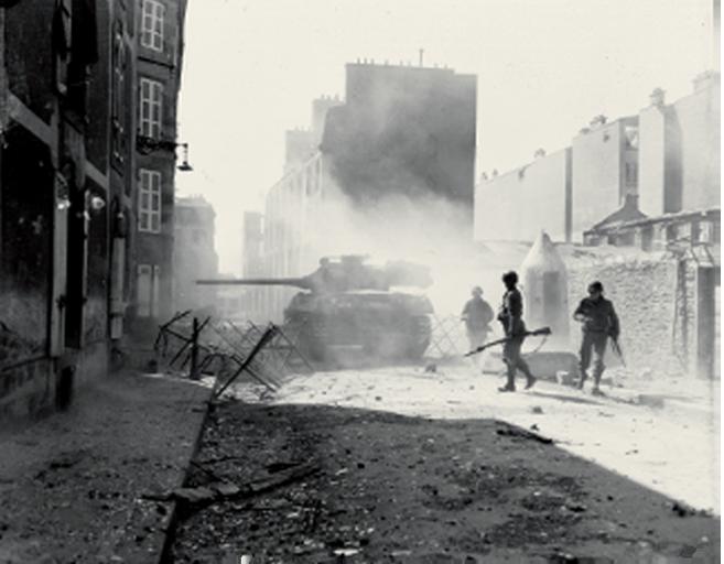 Festung Brest 1944 - Musée Mémoires 39-45